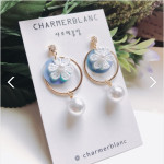 [W] kim yunyoun's request earrings 2ea