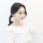 [W] MURMURER Flower Earrings 1set