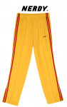 [W] NERDY NY Track Pants Yellow / Red 1ea