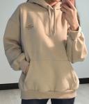 [W] MIXXMIX True Romance Brushed Hood 1ea-Beige