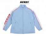 [W] NERDY NY Track Top Line Windbreak Sky Blue 1ea