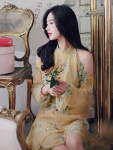 [W] MILKCOCOA Romantic Rose Halter Neck Dress 1ea