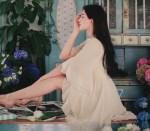 [W] MILKCOCOA Moon Orchid Dress 1ea-Cream Beige, S