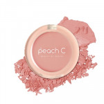 [W] PEACH C Peach Cotton Blusher - Shade # Rose P Cheek