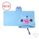 [W] BT21 Hood Towel 1ea