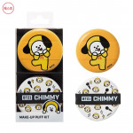 [W] BT21 Chimmy Make Up Puff Kit 1set