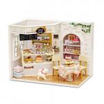 [W] Adico DIY Miniature House - Cake Cafe 1set