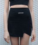 [W] MIXXMIX Jersey Unbalance Skirt 1ea