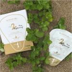 [W] BLOSSOM JEJU White Camellia Soombi 2-Step Pure Brightening Petal Mask 1ea