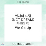 [W] NCT Dream Album We Go Up+Poster+tube