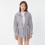 [W] MIXXO Check Shirts 1ea - MIWYW8541S