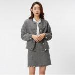 [W] MIXXO Peal Point Tweed Jacket 1ea - MIWJK8321M