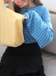 [W] DAHONG Overfit Stripe T-Shirts 1ea