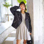 [W] DEEPNY Leather Rider Jacket 1ea
