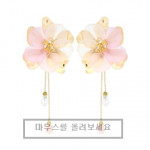[W]  JEALOUSY Lovely Flower Earring 1set