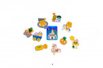 [W] KAKAKOFRIENDS Friends Land Holographic Sticker 10p