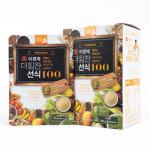 [W] Real Fresh Fruit & Grain 100 Powder 3Box