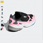 [W] ADIDAS Falcon shoes - B28126