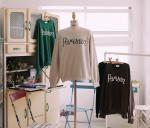 [W] kim yunyoung's request (Amelie dress line.BLACK saint lace dress - s 1ea, colorful parisien sweatshirts - green 1ea)