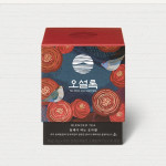[W] OSULLOC Camellia Flower Blooming Forest Tea 1.8g*10ea
