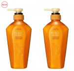 [W] SHISEIDO Tsubaki Oil Extra Smooth Conditioner 450ml*2ea