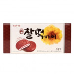 [W] Lotte Korea Imported Glutinous Rice Cake Pie Famous Chocolate Sandwich 225g
