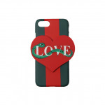 [W] STYLENANDA Snake and Heart Detail iPhone 6/6+ Case