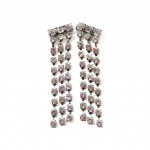 [W] STYLENANDA Rhinestone Waterfall Earrings