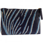 [L] ESTEE LAUDER Blue snake skin patterns Pouch