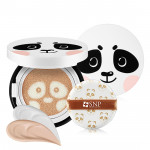 [W] SNP Animal Panda Luminous Cover Cushion 12g SPF50+ PA+++