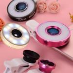 [W] LED Light Selfie Lense set