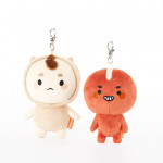[W] BONICREW Boglegel & Poipot Key Ring Doll Set