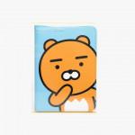 [W] KAKAO FRIENDS RYAN Passport Wallet