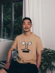 [W] WCONCEPT Face S1 T-Shirts