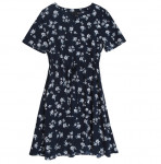 [W] MIXXO Daily Flower Belt Dress