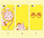 [W] Art Select Yellow Heart Theme Phone Case