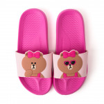 [W] LINEFRIENDS Choco Two Face Slippers