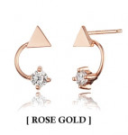 [W] HAESOO.L YUE3790 Earring Rose Gold