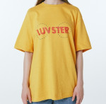 [W] ADER error Luvster T-shirt (Yellow)