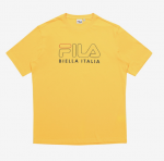 [R] FILA 3D Round T-Shirts Yellow 1ea