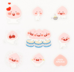 [R] KAKAO FRIENDS Apeach Sticker 1ea