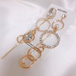 [R] KIRA KIRA Drop Gold Chain Earring 1ea
