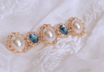 [R] Antique Pearl Hairpin 1ea