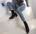 [R] MONOBABIE Stiletto Shape Neoprene Boots 1ea