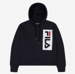 [R] FILA Regular-Fit Big Logo Crop Hood 1ea