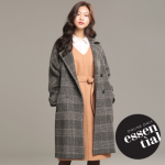 [R] ROEM Big Color Double Coat (2colors) RMJH84TRM2 1ea