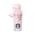 [R] STARBUCKS 19 Cherry Blossom LED Lena Water Bottle 473ml 1ea