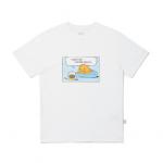 [R] KAKAOFRIENDS Lazy Sunday T Shirts(M)-White