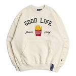 [R] ROMANTICCROWN 10th Good Life Sweat Shirt_Oatmeal 1ea