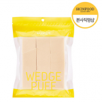 [R] SKINFOOD Wedge Puff Sponge Jumbo Size (12pcs)